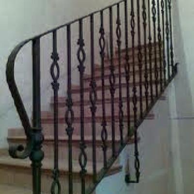 barandas de escaleras forja
