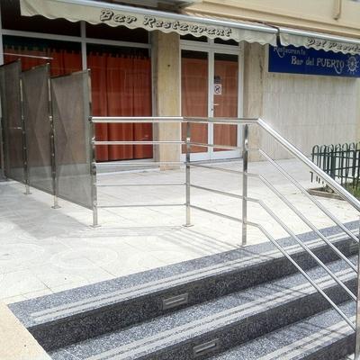 BARANDAS EN ACERO INOX DE TODO TIPO