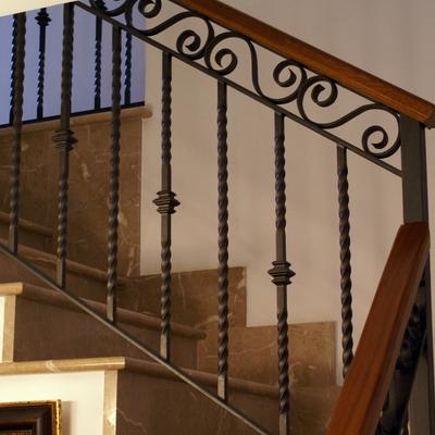 Barandillas de hierro para escaleras encuentre el mejor for Barandillas hierro forjado