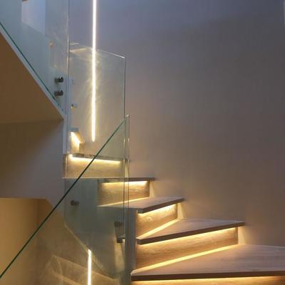 Escale cristal  con led