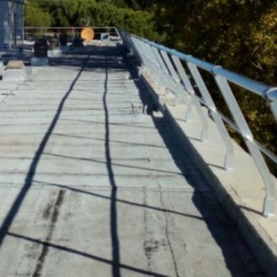 Barandillas de seguridad de aluminio en Madrid