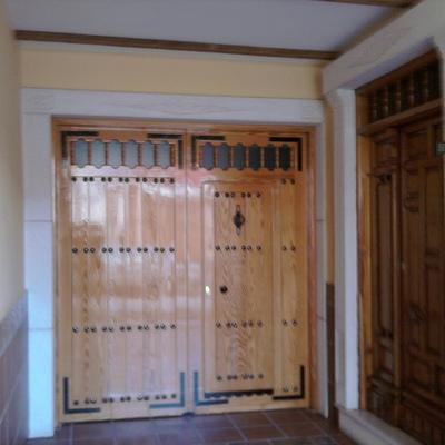 Barnizado de puertas demadera