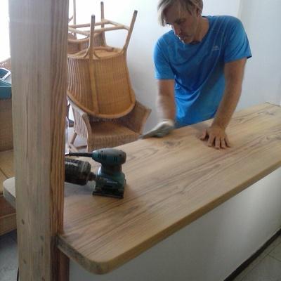 barras de madera