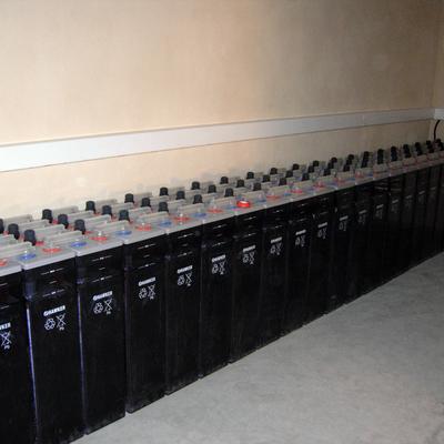 Baterías de vasos