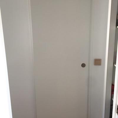 Cambio de puerta batiente a corredera