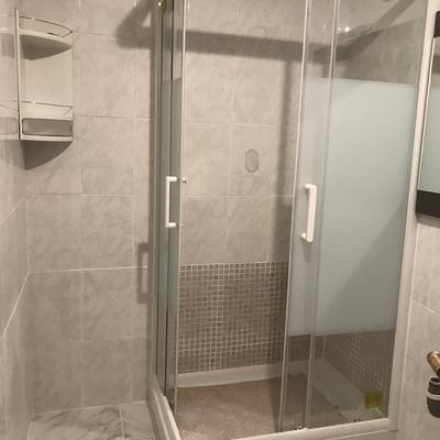 Reforma en baño.