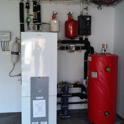 BC geotermica y sala técnica