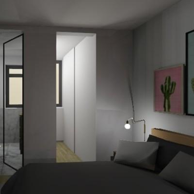 Render Suite Proyecto Reforma Vivienda Barcelona