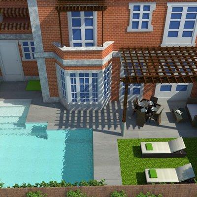 Diseño de jardin 3D