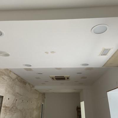 Tratamiento de techo para pintado