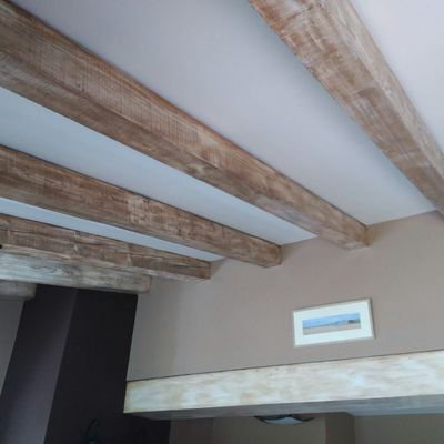 Decapado en madera de interiores