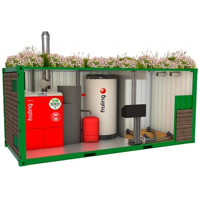 Solución en contenedor Biobox