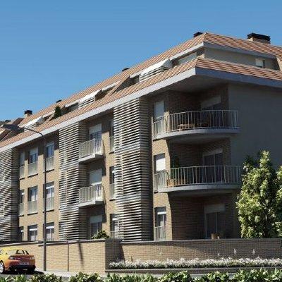bloque de pisos 3d