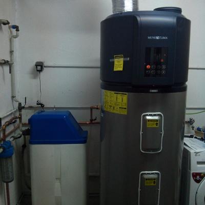 Bomba de calor para producción de agua caliente