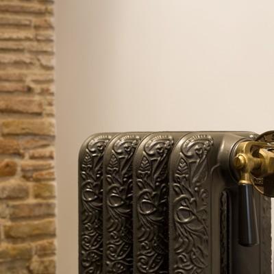 Detalle radiador decorativo