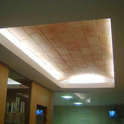 Bóveda iluminada rasilla