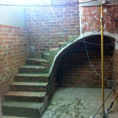 bóvedas de escalera