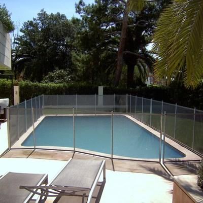 BabySecur Vallas para piscinas Gris