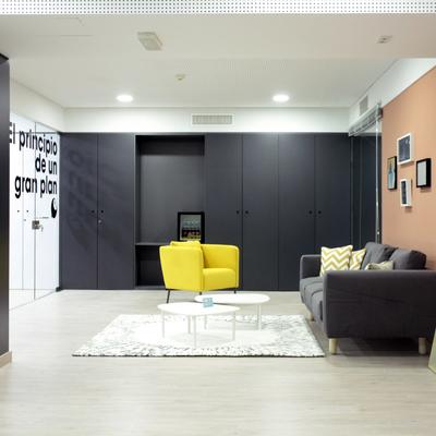 Sala de espera en oficinas