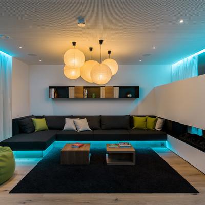 Iluminación LED indirecta y directa