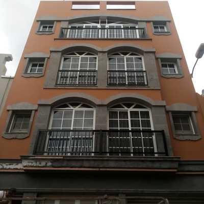 Terminación de fachada!
