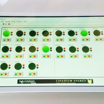 Aplicación de control de consumos (Tablet)