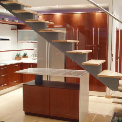 Cocina abierta a salón. Loft Las Matas. . (2004)