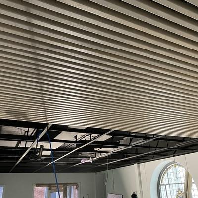 Falso techo madera