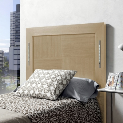 Cabecero de cama roble claro