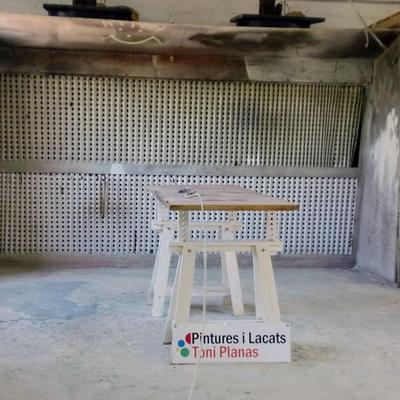 CABINA DE LACADO