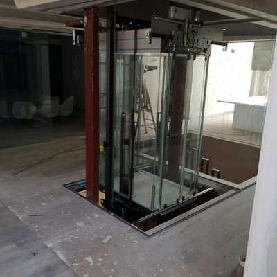 Cabina de cristal total