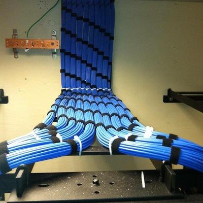 Instalación de cableado estructurado (Voz y datos) para empresas