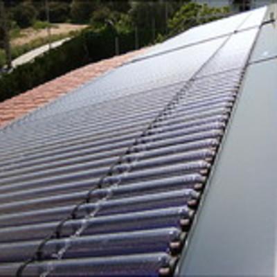 Placas solar termica de tubos de vacio