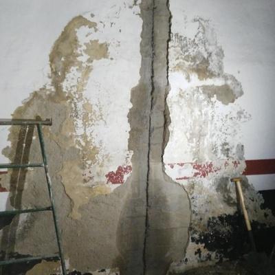 Filtraciones laterales garaje