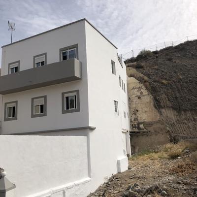 Pintura de la fachada de la vivienda