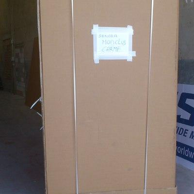 Caja grande (liftan de cartón)