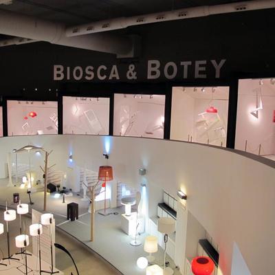 Cajas escénicas interiores para Biosca & Botey