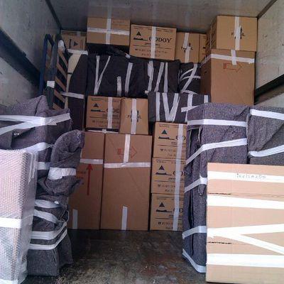 Cajas y mobiliario