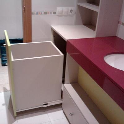 cajon lavabo extraible