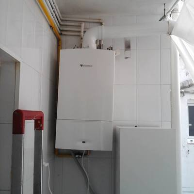 Instalación Caldera de condensación