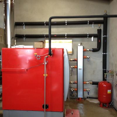 Caldera biomassa industrial