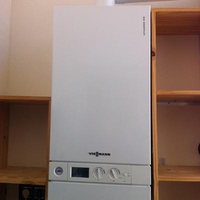 caldera de condensacion para suelo radiante y acs