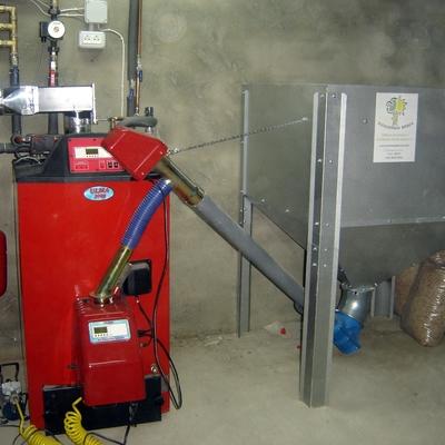 precio instalar caldera biomasa pellets habitissimo