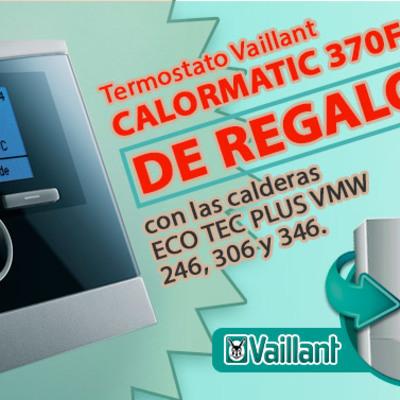 Promoción termostato gratis con caldera Vaillant