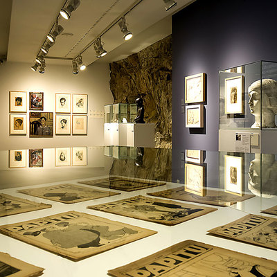 Exposición permanente de la Fundació Palau en Caldes d'Estrach, Barcelona