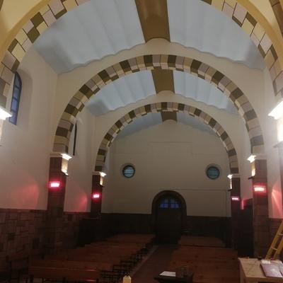 calefacción iglesia