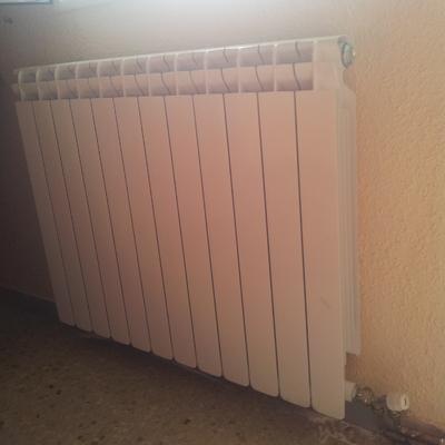 Calefacción monotubo cobre
