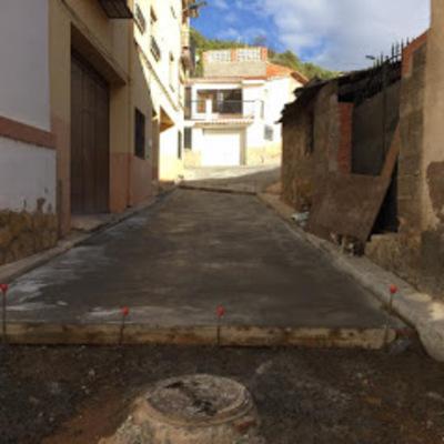 Sustitución de pavimento