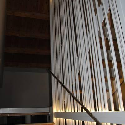 Construccion de vivienda de alto standing entre medianerias