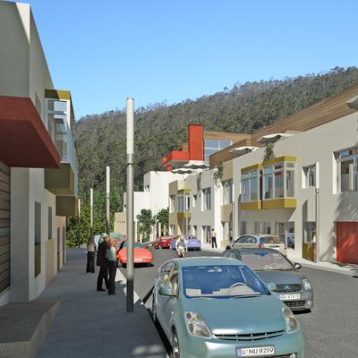 Promoción de Viviendas en Boiro, Coruña